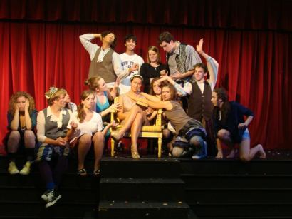 Shakespeare Cast with Charlotte M. and Claire O.